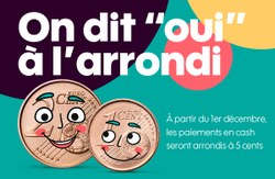"On dit ""Oui"" à l'arrondi"