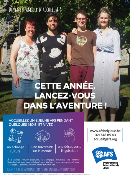 AFS Accueil   Poster 2019 4